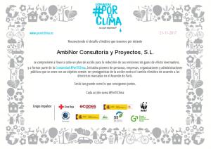 PorElClima_diploma_AmbiNorConsult