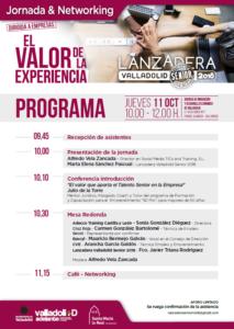 Programa Jornada El Valor de la Experiencia_181011